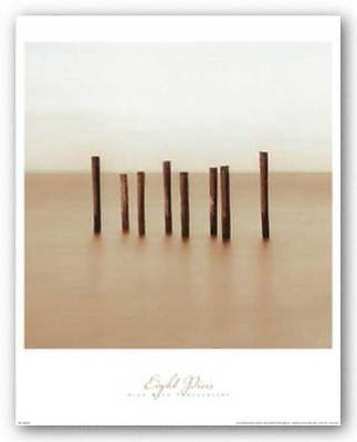 Eight Piers Alan Klug Art Print 18x18