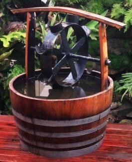WATER WHEEL GARDEN FEATURE WATER FEATURE POND | Pots U0026 Garden Beds |  Gumtree Australia Melbourne City   Melbourne CBD | 1192465906