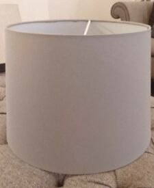 FREE Large Grey Lampshade COLLECTION ONLY