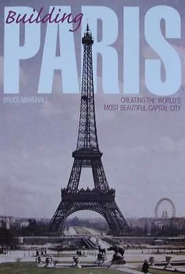 BOOK : BUILDING PARIS ( louvre,eiffel tower,notre-dame,Arc de Triomphe