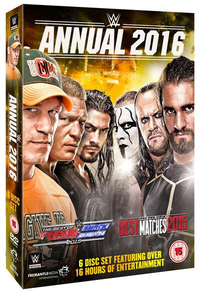 WWE: 2016 Annual [DVD]