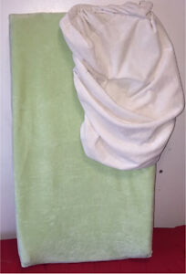 Changing pad, 2 liners and head pad