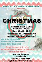 The Back Alley Xmas Market in Fort Macleod
