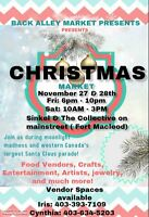Looking for vendors for outdoor market in Fort Macleod