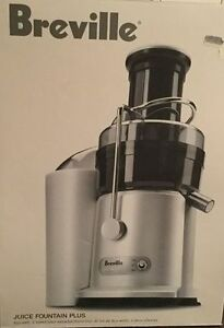 Brand new ... BREVILLE Juice Fountain™ Plus.