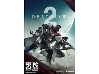 Destiny 2 PC Full Game Code/Key