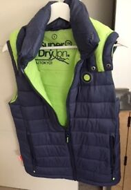 Superdry Gilet - Men's size Small - As new