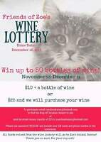 Wine Lottery - Zoe's Animal Rescue