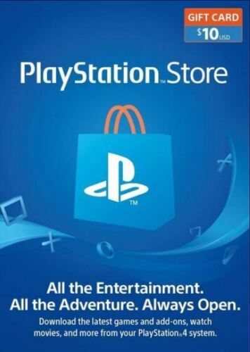 $10 $25 $50 PlayStation Store Gift Card * Fast E Delivery * Brand New * USA Only