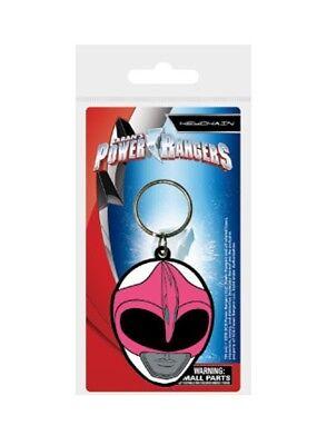 Pink Power Ranger Helmet (Power Rangers porte-clés caoutchouc Pink Ranger Helmet 5 cm keychain)