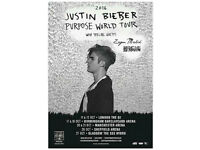 Justin Bieber Ticket - Sheffield Arena 26th oct (standing)