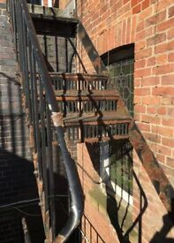 Fire Escape Repairs and painting / mobile welding service