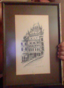 Etching Lithograph? Signed Jacques 78 Make Offer!