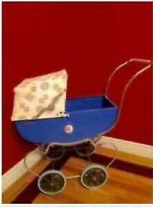 Antique Doll Carriage, 1950's Thistle, Excellent condition