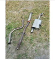 B 18 exhaust 2.5 inc