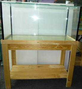 """BRAND NEW 3 foot Fish Tank and Stand 3' x 18"""" x 18"""" Locally Made Wooloowin Brisbane North East Preview"""