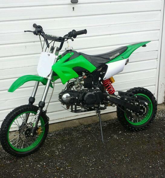 Brand New Akuma Assasin 125 Pit Bike 110 140 160 Stomp Wpb Demon X