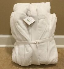 New Pottery Barn Large Classic Terry Robe White Ebay