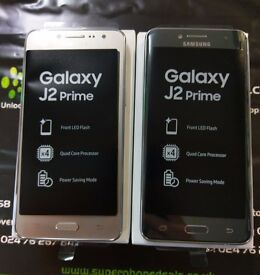 SAMSUNG GALAXY J2 PRIME - UNLOCKED TO ALL NETWORKS - BRAND NEW