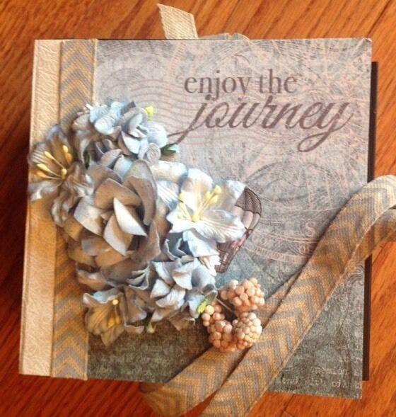 Handmade Mini Album Using Heartfelt Creations Celebrate The Journey Collection