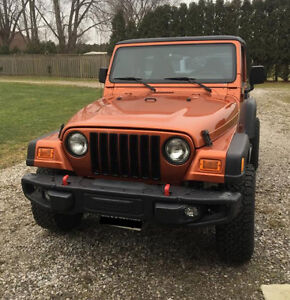 2001 Jeep TJ Hard & Soft top included
