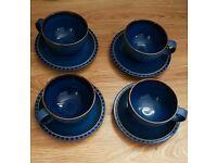 Denby reflex tea set