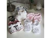 Baby girls shoes 0-3
