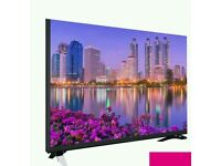 """LUXOR 55"""" 4K UHD SMART WIFI HD FREEVIEW . NEW TV COMES IN BOX FREE DELIVERY ."""