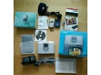 Cannon selphy cp710 compact photo printer wirh cannon ixus 850 is