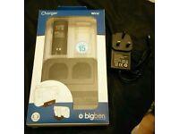 BigBen Wii U dual charger - Gamepad & 2 x Wii remotes
