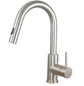 New in Box - stainless steel Bristol kitchen faucet