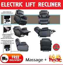 BRAND NEW Electric Lift Recliner Chair with HEAT and MASSAGE New Farm Brisbane North East Preview