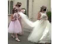 WEDDING...FLOWERGIRL BOUQUET