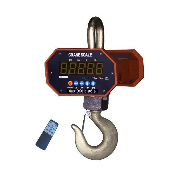 Heavy Duty Crane Scale 4000 lb X 1 lb,High Capacity with Remote,New