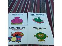 4 mister men extra large books