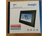"""Imagin 7"""" Digital Photo frame for £20"""