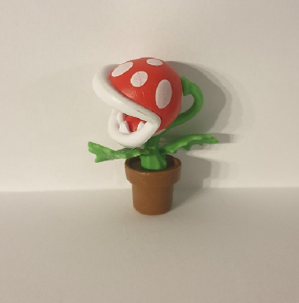 Super Mario Figur (Nintendo) - Piranha-Pflanze