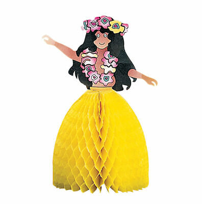 Hula Girl Centerpiece Luau Pool Tropical Party Decorations Hula Girl Party Supplies