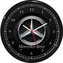 Mercedes Benz Wall Clock Garage Work Shop Gift  Father's Day Man Cave