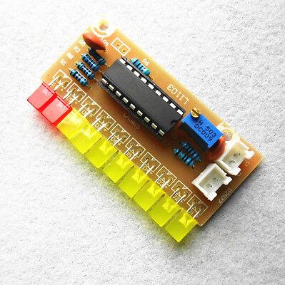 1pcs Lm3915 10 Segment Audio Level Indicator Diy Kit New