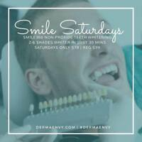 Teeth Whitening/SmileSaturdays#brightsmile/youdeserveit