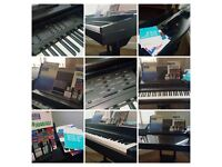 cvp10 yamaha baby clavinova 88 weighted keys