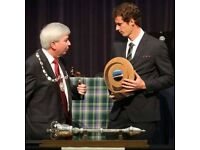Scott Irvine (Bowel) (Scottish Sculpture) (Andy Murray) Look****