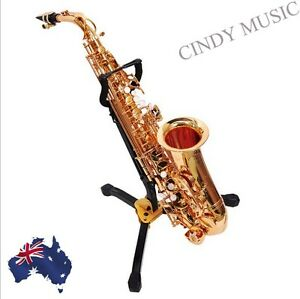 BRAND NEW SAXOPHONE SAX STAND (for Alto or Tenor) Full folding type