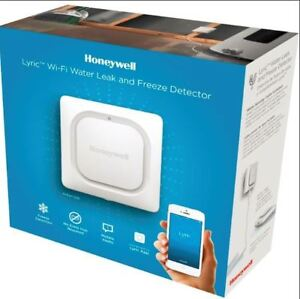 BNIB Honeywell Lyric Wi-Fi Water Leak & Freeze Alarm Detector