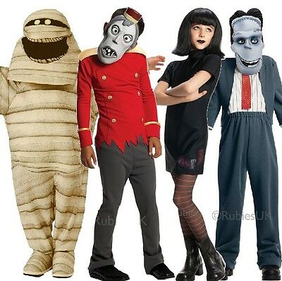 Boys Girls Official Hotel Transylvania 2 Halloween Fancy Dress Costume Outfit