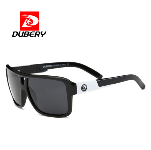 fce9b396e8 DUBERY Mens Sport Polarized Sunglasses Outdoor Riding Driving Square Eyewear  New