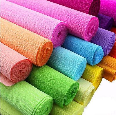 DIY Crepe Paper Streamer Roll Wedding Birthday Party Supplies Children handmade - Crepe Paper Streamer