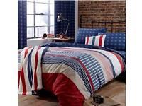 Single duvet set / curtains