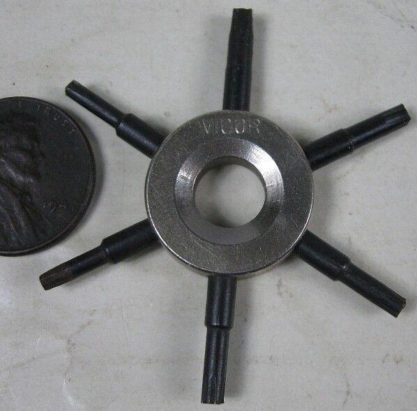 Vintage Antique Vigor Clock Tool Wrench